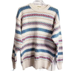 Vintage Made in Thailand Fair Isle Sweater